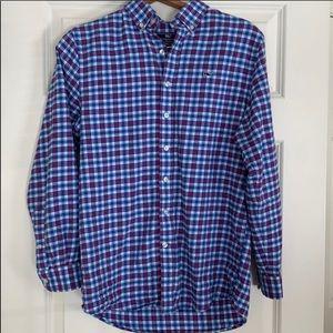 Vineyard Vines plaid flannel shirt